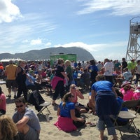 Photo taken at Hood To Coast FINISH LINE by Andie S. on 8/24/2013