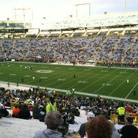 Photo taken at Lambeau Field by Jessica S. on 9/14/2012