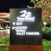 Photo taken at Treasure Island Resort & Casino by Danny G. on 10/6/2012