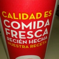 Photo taken at Wendy's by Juan S. on 11/25/2012