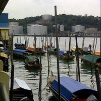 Photo taken at Pulau Sambu by Cindy Widya N. on 2/21/2013
