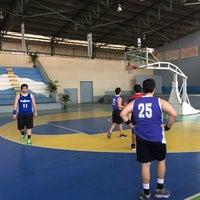 Photo taken at Gimnasio Municipal by René S. on 2/6/2016
