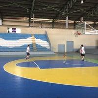 Photo taken at Gimnasio Municipal by René S. on 2/20/2016