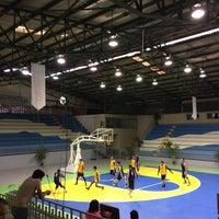 Photo taken at Gimnasio Municipal by René S. on 2/13/2016