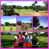 Photo taken at Ellair Maui Golf Club by Starla C. on 7/21/2013