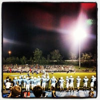 Photo taken at Centennial High School by Mark W. on 9/22/2012
