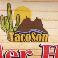 Photo taken at TacoSon by Joey A. on 3/14/2013