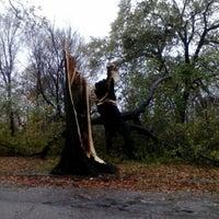 Photo taken at Rockefeller Park by Dorjan S. on 10/30/2012