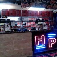 Photo taken at Happy's Pizza by Dorjan S. on 10/2/2012