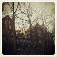 Photo taken at Rockefeller Park by Dorjan S. on 1/10/2013