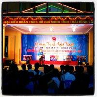 Photo taken at Nhà văn hóa Thiếu nhi tỉnh Thái Bình by Diệu N. on 10/12/2012