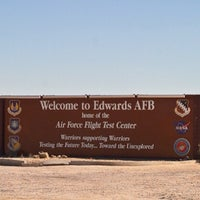 Photo taken at Edwards Air Force Base by Mike (Arch) A. on 2/23/2015