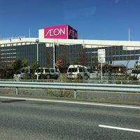 Photo taken at AEON Mall by Eiji S. on 4/13/2014
