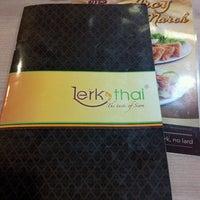 Photo taken at Lerk Thai by Vanessa C. on 3/2/2013