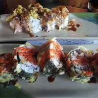 Photo taken at Sushi Twister by April R. on 9/21/2012