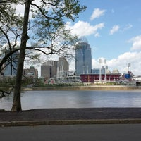 Photo taken at George Rogers Clark Park by Lynda P. on 4/29/2014