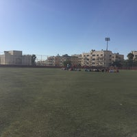 Photo taken at ملعب الهاشمي by Makiko K. on 7/29/2016