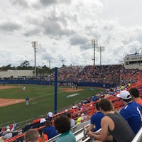 Photo taken at McKethan Stadium at Perry Field by Warren C. on 6/11/2017