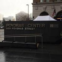 Photo taken at Poydras Center by Warren C. on 2/1/2016