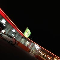 Photo taken at A&W 屋宜原店 by o_no_chang on 2/10/2013