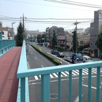Photo taken at 新蒲田一丁目歩道橋 by o_no_chang on 9/6/2014