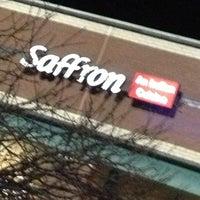 Photo taken at Saffron Indian Cuisine by Eddie A. on 11/30/2012