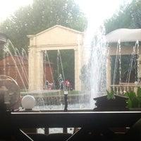 "Photo taken at Ресторан ""У Фонтана"" by Natalie 🌸 on 8/29/2013"