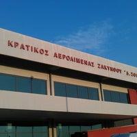 Photo taken at Zakynthos International Airport Dionysios Solomos (ZTH) by Dmitryi K. on 7/6/2013