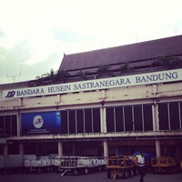 Photo taken at Husein Sastranegara International Airport (BDO) by Pandu C. on 12/21/2012