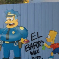 Photo taken at The Simpsons Ride by Bruna B. on 2/1/2013