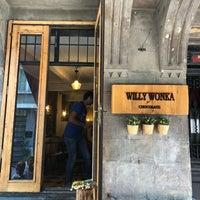 9/2/2018 tarihinde Leyla E.ziyaretçi tarafından Willy Wonka Chocolate'de çekilen fotoğraf