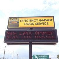 Photo taken at Efficiency Garage Door Service by Tim B. on 7/27/2013