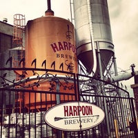 Photo taken at Harpoon Brewery by Emily L. on 3/29/2013