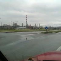 Photo taken at Južna industrijska zona Pančevo by Goran S. on 2/3/2013