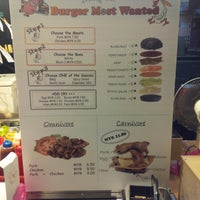 Photo taken at Burger Most Wanted by ♚Xiang Mei♚ on 8/1/2013