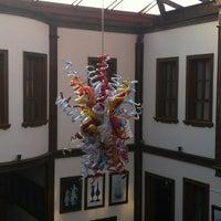 Photo taken at Çağdaş Cam Sanatları Müzesi by G🐞rkem on 11/15/2012