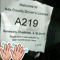 ... Photo taken at Ada County Department of Motor Vehicles by Allen W. on 9/ ...