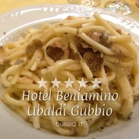Photo taken at Hotel Beniamino Ubaldi by Luca D. on 8/29/2013