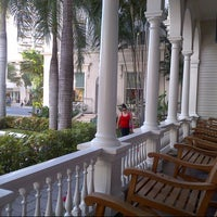 Photo taken at Moana Surfrider, A Westin Resort & Spa, Waikiki Beach by TripOrTreats.com on 11/11/2012