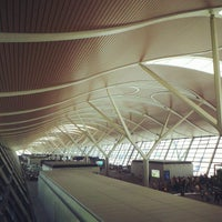 Photo taken at Shanghai Pudong International Airport (PVG) by TripOrTreats.com on 5/13/2013