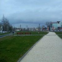 Photo taken at Парк Македонија by Toni D. on 3/25/2013