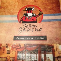 Photo taken at Señor Gaucho by Roberto H. on 9/27/2013