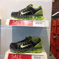 Photo taken at Nike Factory Store by Mario W. on 3/12/2014