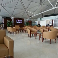 Photo taken at Emirates Lounge by Joost R. on 2/25/2013