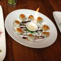 Photo taken at Sushi Taiyo by Katie K. on 11/10/2012