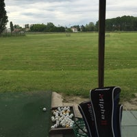 Photo taken at Cento Golf Club by Emanuele C. on 4/23/2016