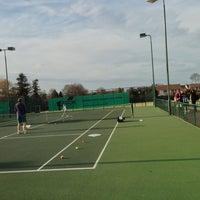 Photo taken at EBAT - Elena Baltacha Academy of Tennis by Matthew T. on 4/17/2013