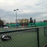 Photo taken at EBAT - Elena Baltacha Academy of Tennis by Matthew T. on 4/24/2013