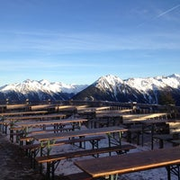 Photo taken at Hochwurzenalm by Anna A. on 12/29/2012
