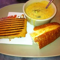 Photo taken at Panera Bread by Olivia B. on 10/4/2012